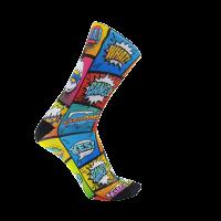 Calcetines ciclismo Monolon Comic originales y divertidos