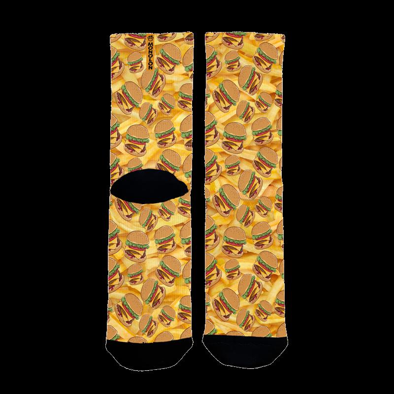 Calcetines originales para ciclismo Burgers