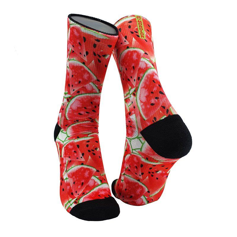 Calcetines para ciclismo y running Watermelon