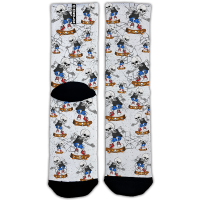calcetines de ciclismo estampados Monolon Skate Skull