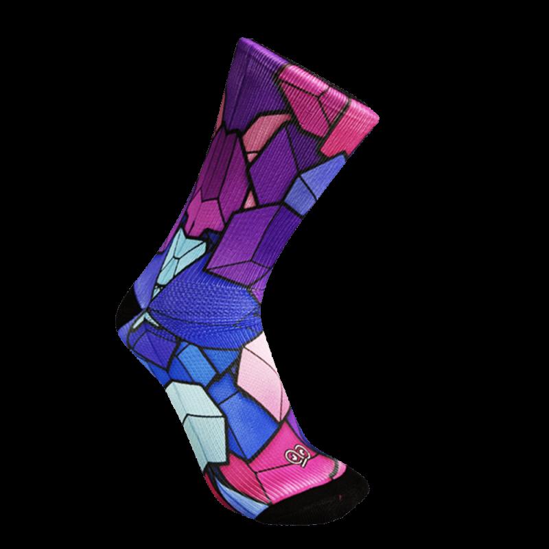 calcetin-monolon-prisma colores para correr y bicicleta