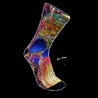calcetin-monolon-psycho colores para correr y ciclismo