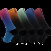 Calcetines deportivos con degradados
